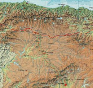 mappa-Camino-de-Madrid
